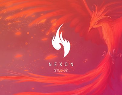 NEXON studios Branding & website design.