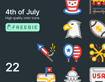 FREE. 4th of July Icons