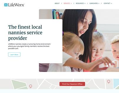 LifeWorx Branding and Web Design /Build
