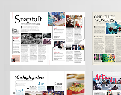Editorial Design - HK Magazine