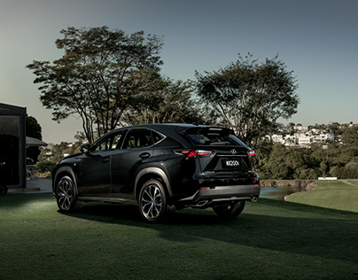 Lexus NX200t with Olympic Athlete Victoria Lovelady