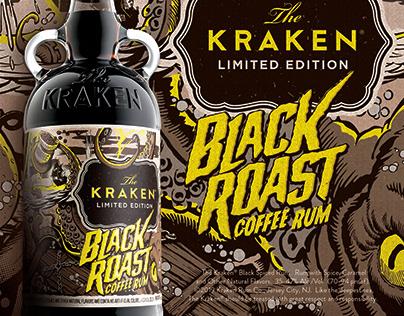 The Kraken Black Roast Coffee Rum | Limited Edition