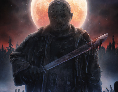 Horror: Jason, Leatherface, Clown Art, Pennywise.