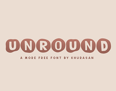 Unround free font for commercial use