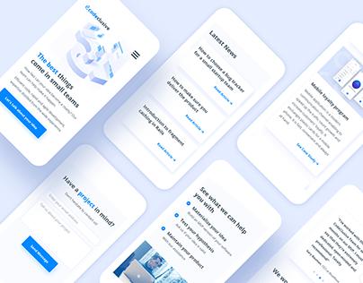 CodeClusive | Logo & Website Design