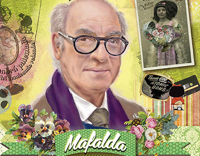 50 years Mafalda. Tribute to QUINO