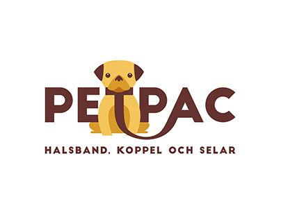 Logo for selling dog collars and leashes