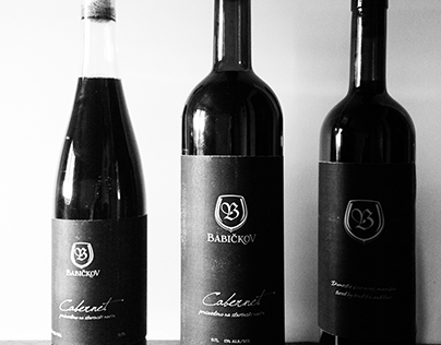 wine logo & label