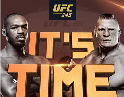 UFC 245 Jon Jones vs. Brock Lesnar