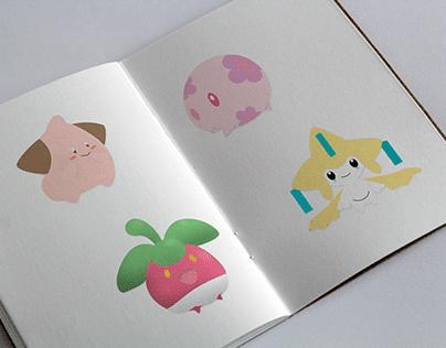 Graphic Design |Vectorials Pokémon