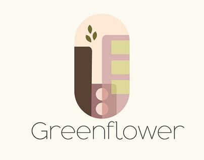 Greenflower | City Logo