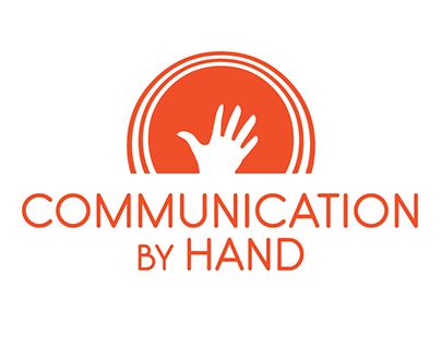 Communication by Hand logo
