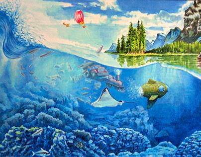 Submarine Page - Children's Book
