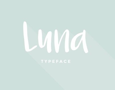 LUNA  |  Free Font
