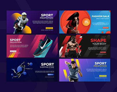 Shopify Banner Templates | Web Banner Templates