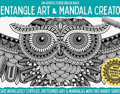 Zen Fine Liner Art & Mandala Creator