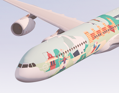 Portugal Stopover Aircraft Livery Design