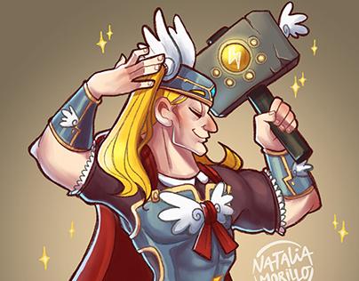 Magical boy Thor