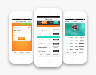 Designing a trustworthy interface for shared expenses