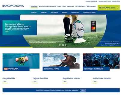 Corporate Website - Banco Patagonia