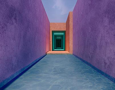 Colorfull Concrete - Imaginary Landscape Series -