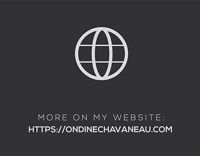 MORE ON MY WEBSITE https://ondinechavaneau.com