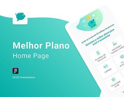 Home Page - Melhor Plano