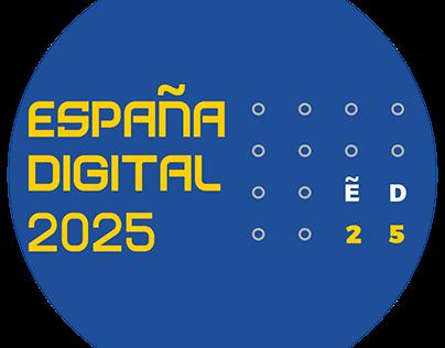 Imagen visual España Digital 2025. Gobierno de España