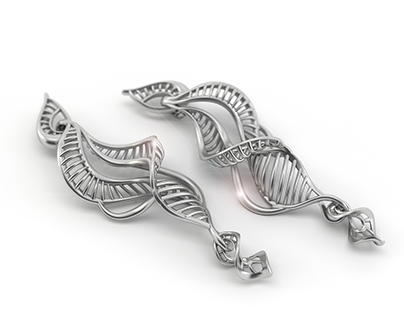 DNA earings