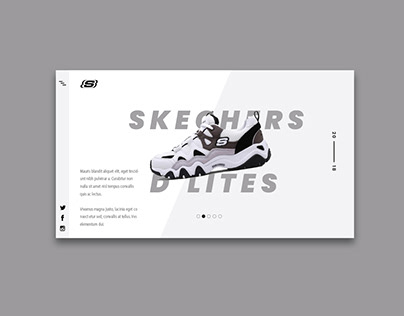 Skechers Web Design