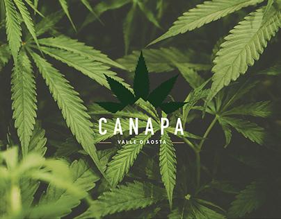 Canapa Vda Logo & Branding