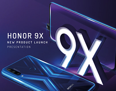 HONOR 9X - new product launch