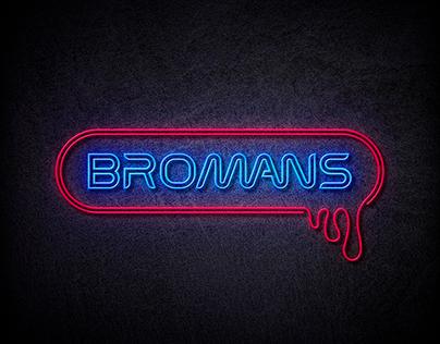 Logo pour la web série Bromans