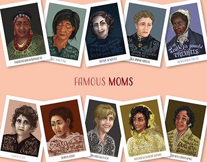 Famous Moms