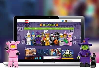 LEGO® Halloween Campaign 2015
