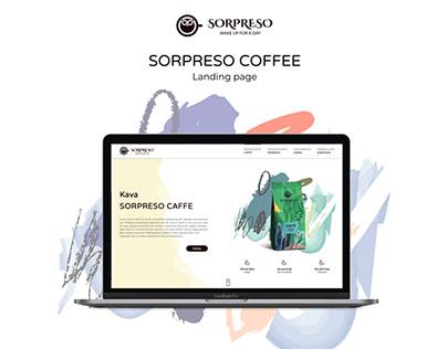 Sorpreso Coffee Landing Page