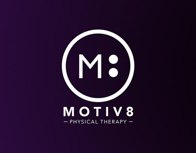 Motiv8 brand identity