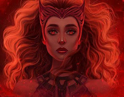 Scarlet Witch Fanart
