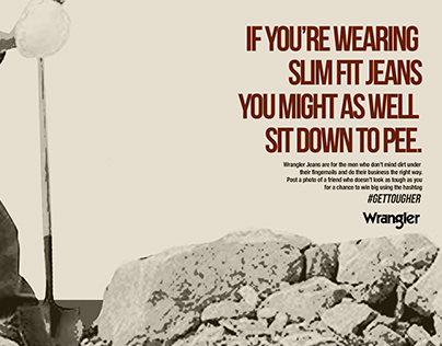 Wrangler Jeans Campaign