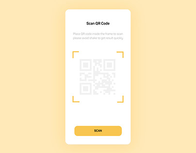 QR Code Scan Micro Interaction