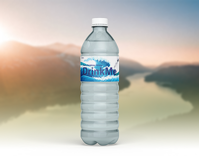 Water Bottle Label Design