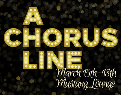 A Chorus Line - Spring Musical 2017