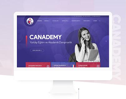 Canademy Responsive Website