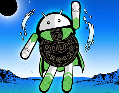 Google - Android Oreo Comic Book
