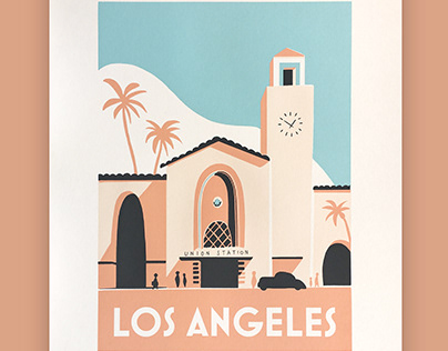 Los Angeles Screen Print