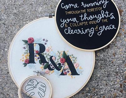 Embroidery Hoop Series