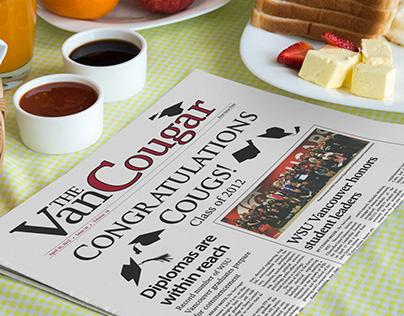 VanCougar Newspaper circa 2011