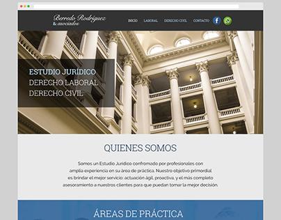 Dr. Berredo y Asoc. » Logo + Rediseño de sitio web