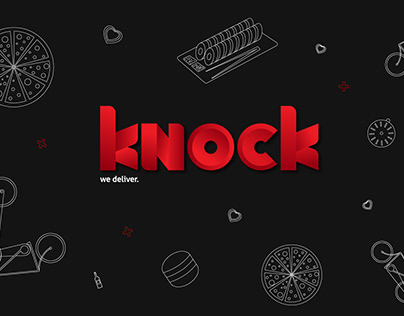 Knock Delivery Logo+Texture
