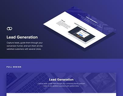 Joomag Lead Generation page